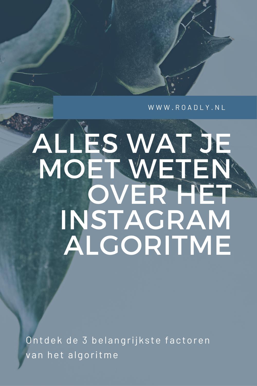 alles over het instagram algoritme
