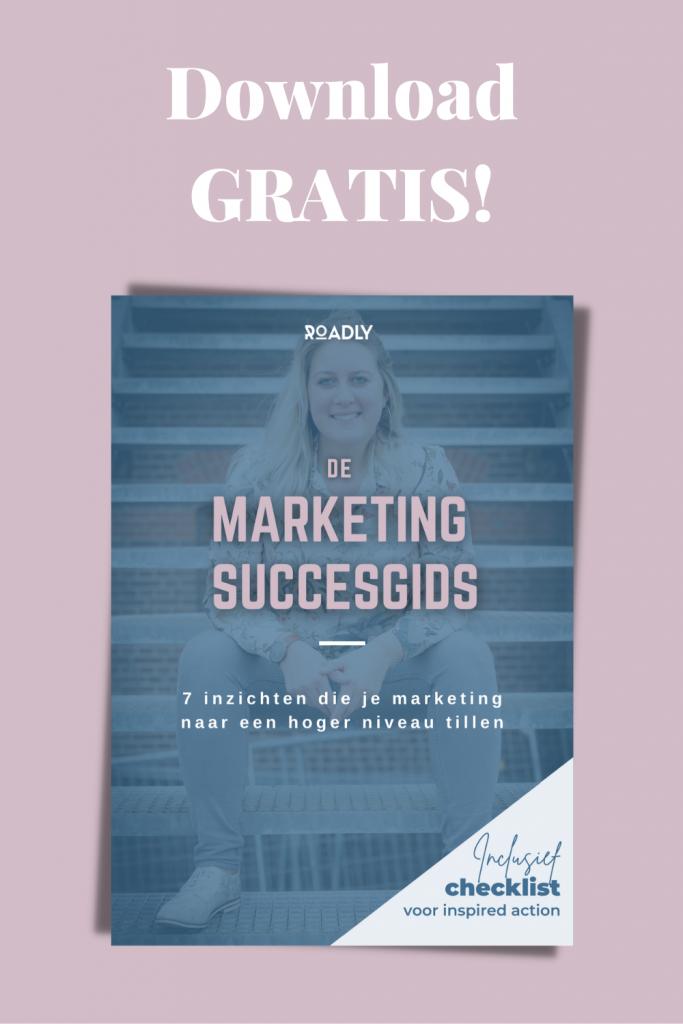 Download gratis Marketing Succes Gids