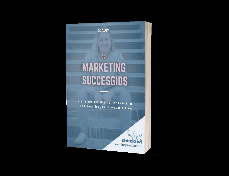 Marketing Succes Gids - gratis ebook